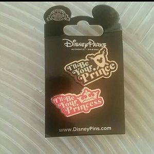 Disney I'll be your Prince(ss) collector pins set